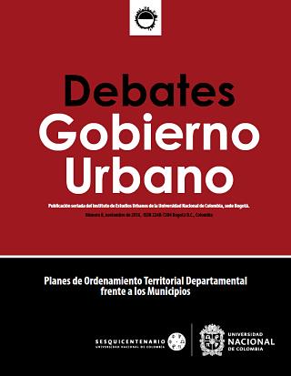 Debates de Gobierno Urbano 8