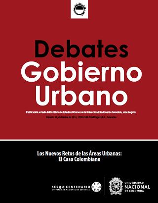 Debates de Gobierno Urbano 11
