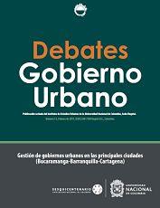 Debates de Gobierno Urbano 13
