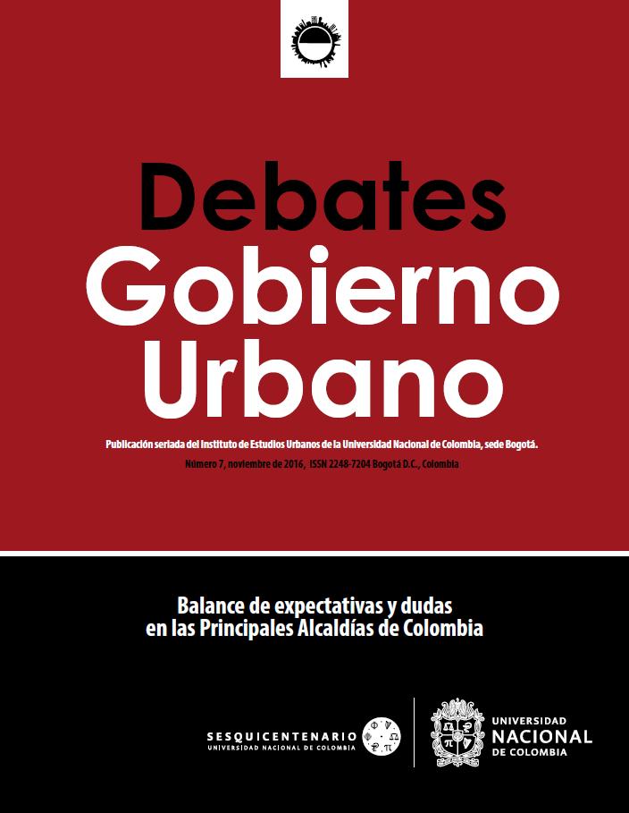 Debates de Gobierno Urbano 7
