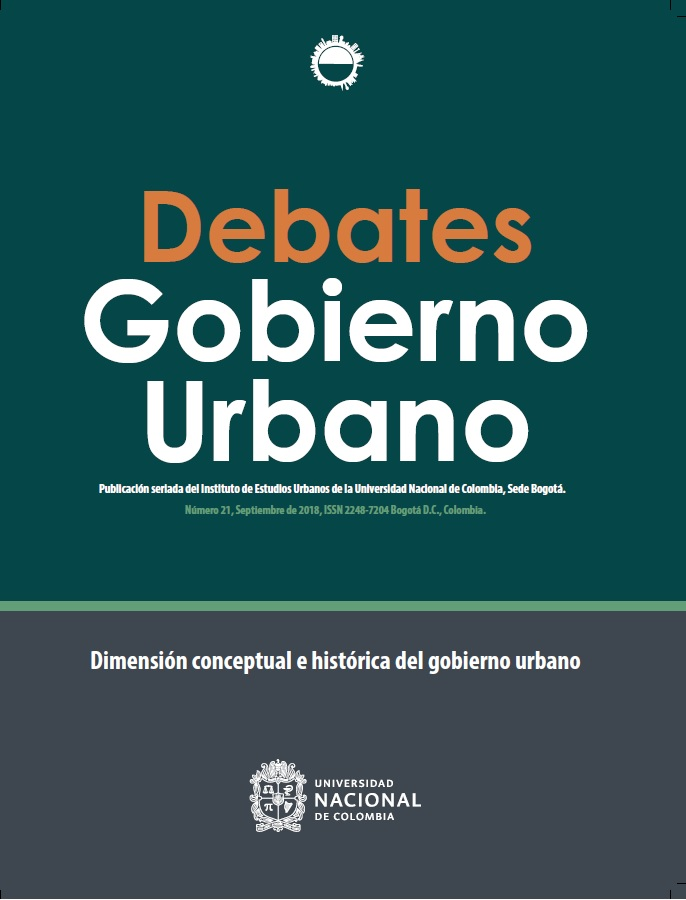 Debates de Gobierno Urbano 21