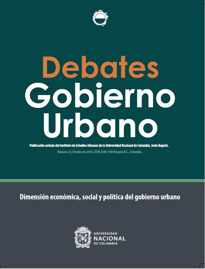 Debates de Gobierno Urbano 22