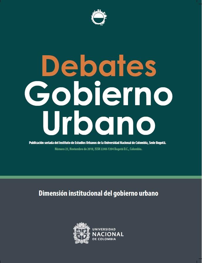 Debates de Gobierno Urbano 23