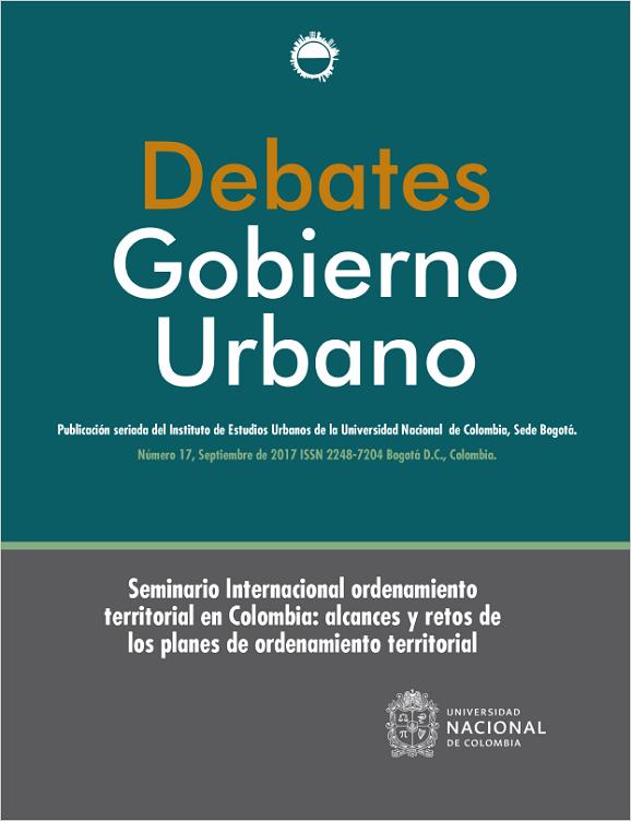 Debates de Gobierno Urbano 17