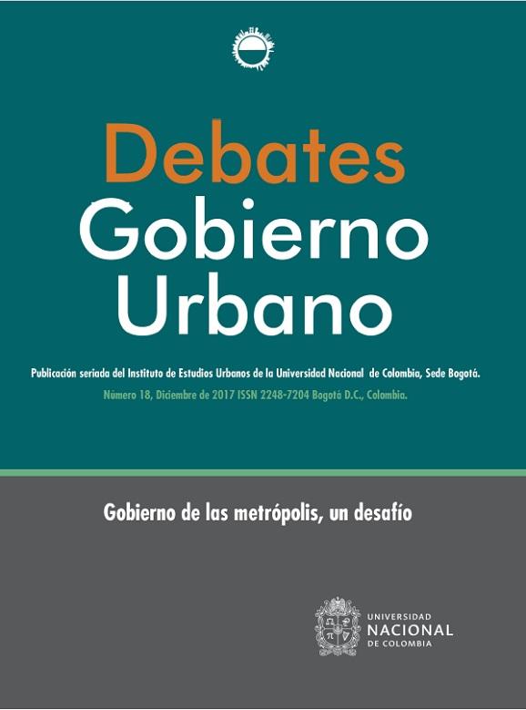 Debates de Gobierno Urbano 18