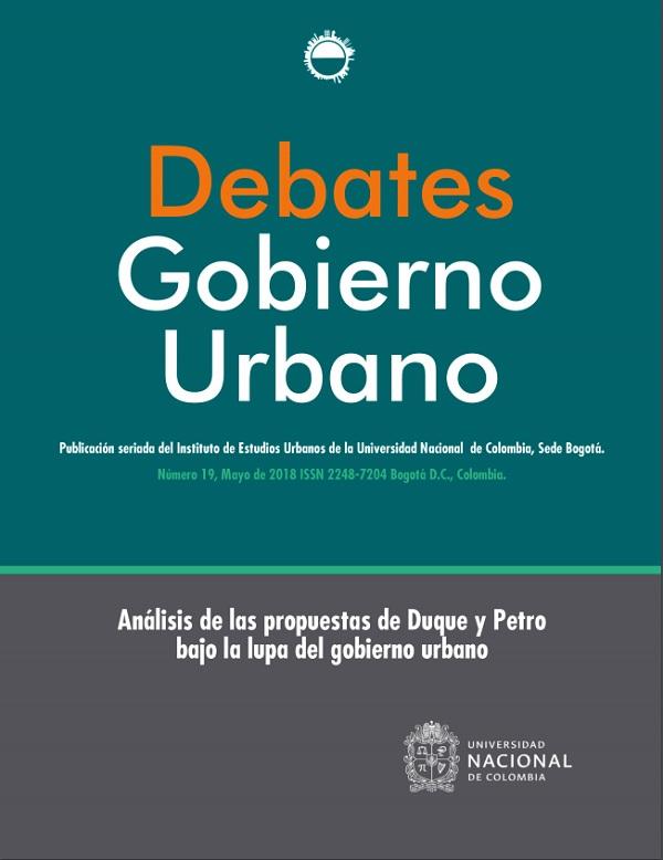 Debates de Gobierno Urbano 19
