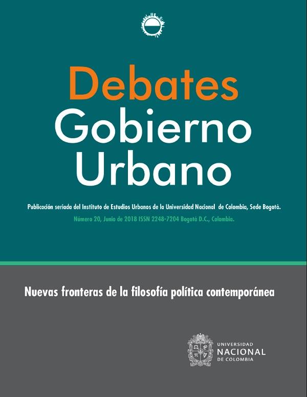 Debates de Gobierno Urbano 20