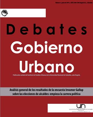 Debates de Gobierno Urbano 1
