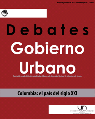 Debates de Gobierno Urbano 2
