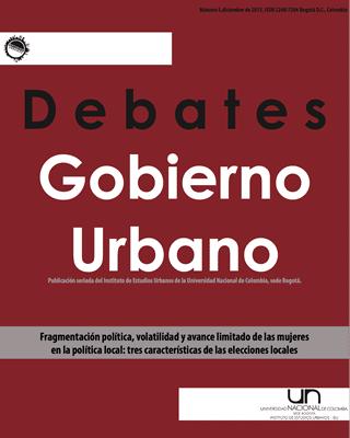 Debates de Gobierno Urbano 5