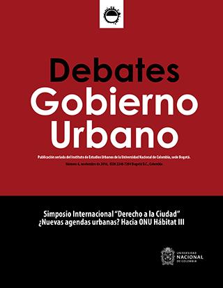Debates de Gobierno Urbano 6