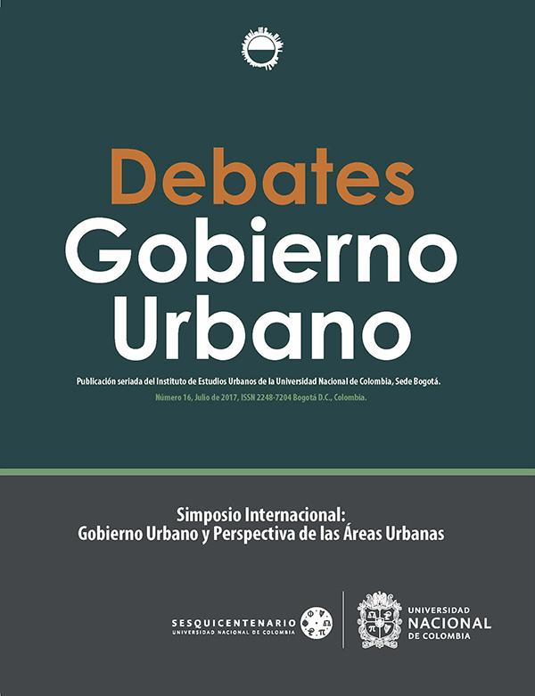 Debates de Gobierno Urbano 16